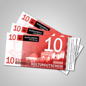 Kulturgutschein 10 €