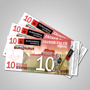 Zauber-Taler 10 €